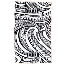 Image of Ta-Towel White/Black Towel