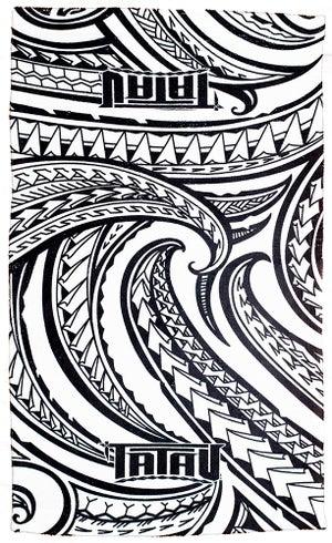 Image of Ta-Towel White/Black Towel