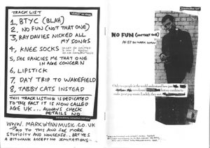 Image of No Fun (not that one) an EP by Mark Wynn w/zine