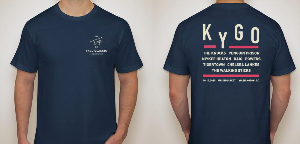 Image of All Things Go Fall Classic 2015 T-Shirt