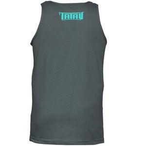 Image of Tatau Pocket Tank Grey/Teal