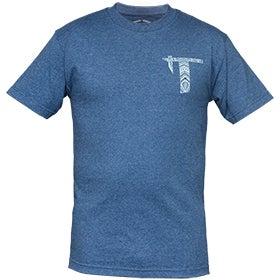 Image of Tatau T Logo Indigo Blue Tee