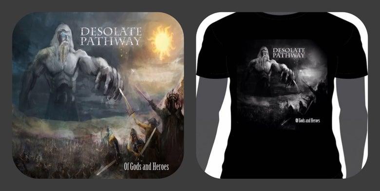 Image of Cd & t-shirt DEAL