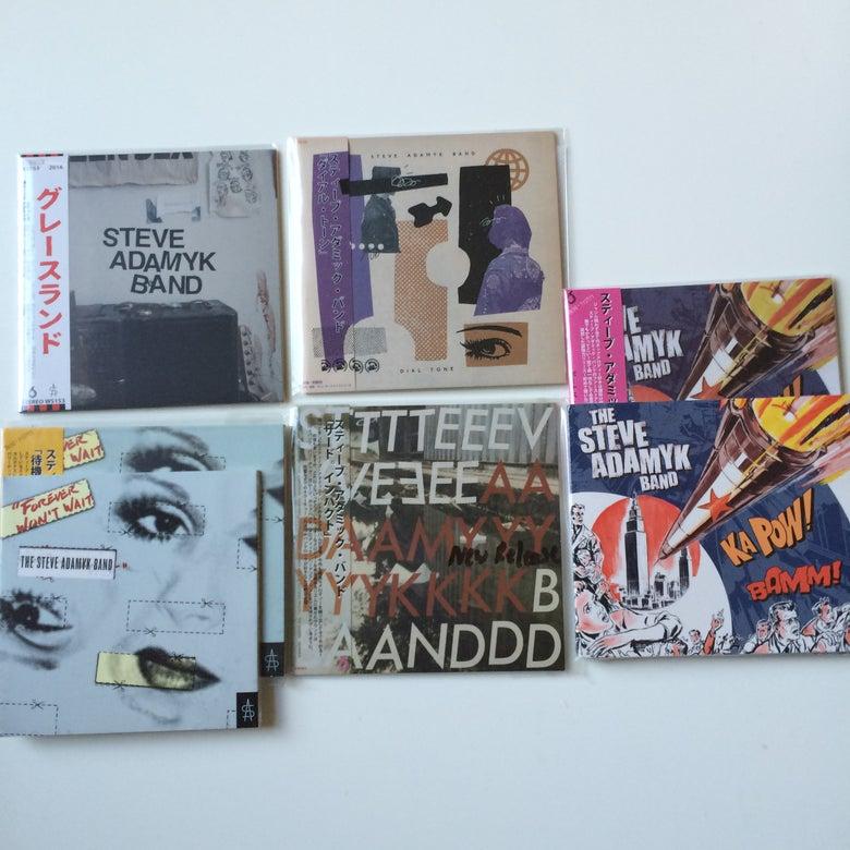 Image of Steve Adamyk Band CD's