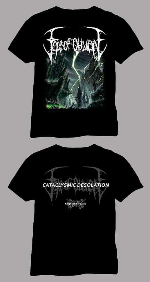 Image of Cataclysmic Desolation Pre Order Special Package