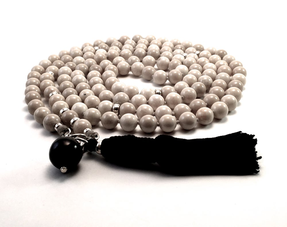Image of Infinite Journey Riverstone Mala