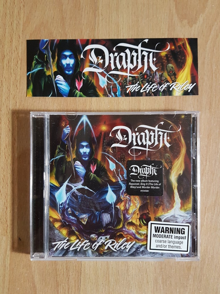 Image of Personally Signed 'The Life Of Riley' Albums by Drapht
