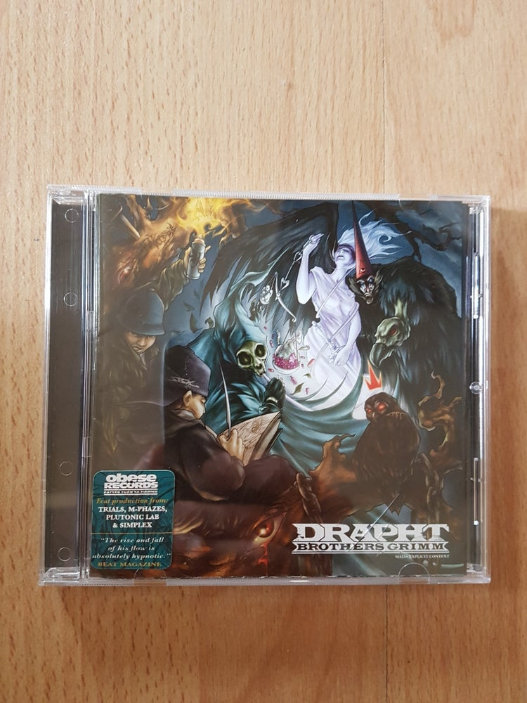 Image of Personally Signed 'Brothers Grimm' Album By Drapht