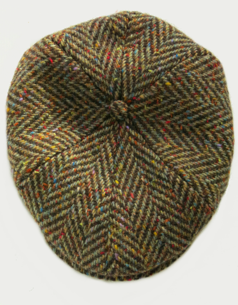 Image of DONOVAN HAT [DONEGAL TWEED]