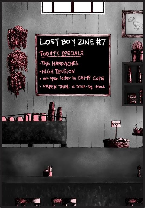 Image of LostBoyZine #7