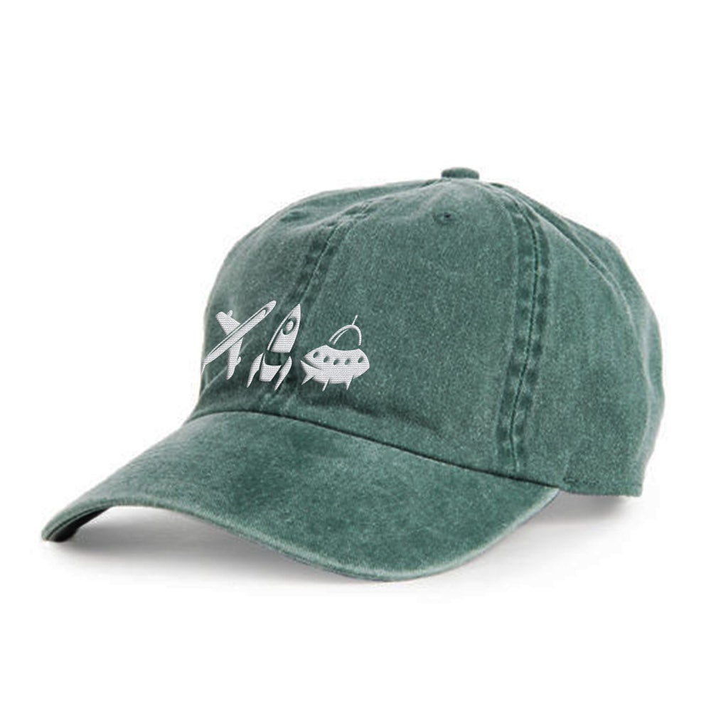 Image of Keep Lifting Green Dad Hat
