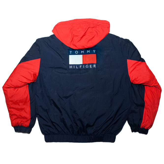 Image of Tommy Hilfiger Reversible Puffer Goose