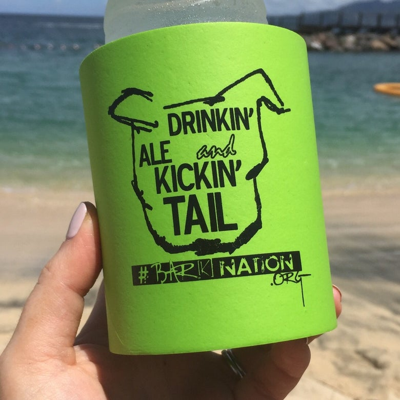Image of Drinkin' Ale and Kickin' Tail Koozie