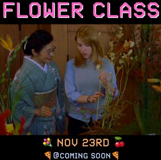 Image of NOVEMBER FLOWER CLASS