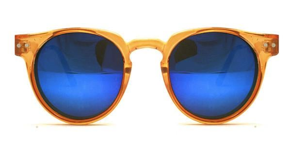 Image of Spitfire - Teddy Boy Orange Blue Mirror
