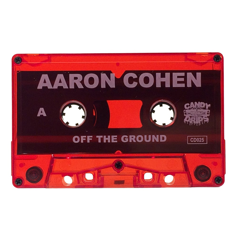 Image of AARON COHEN: OFF THE GROUND EP - CASSETTE TAPE