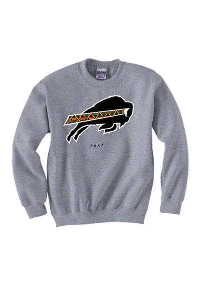 Image of 1867 Collection - Grey Crewneck Sweatshirt