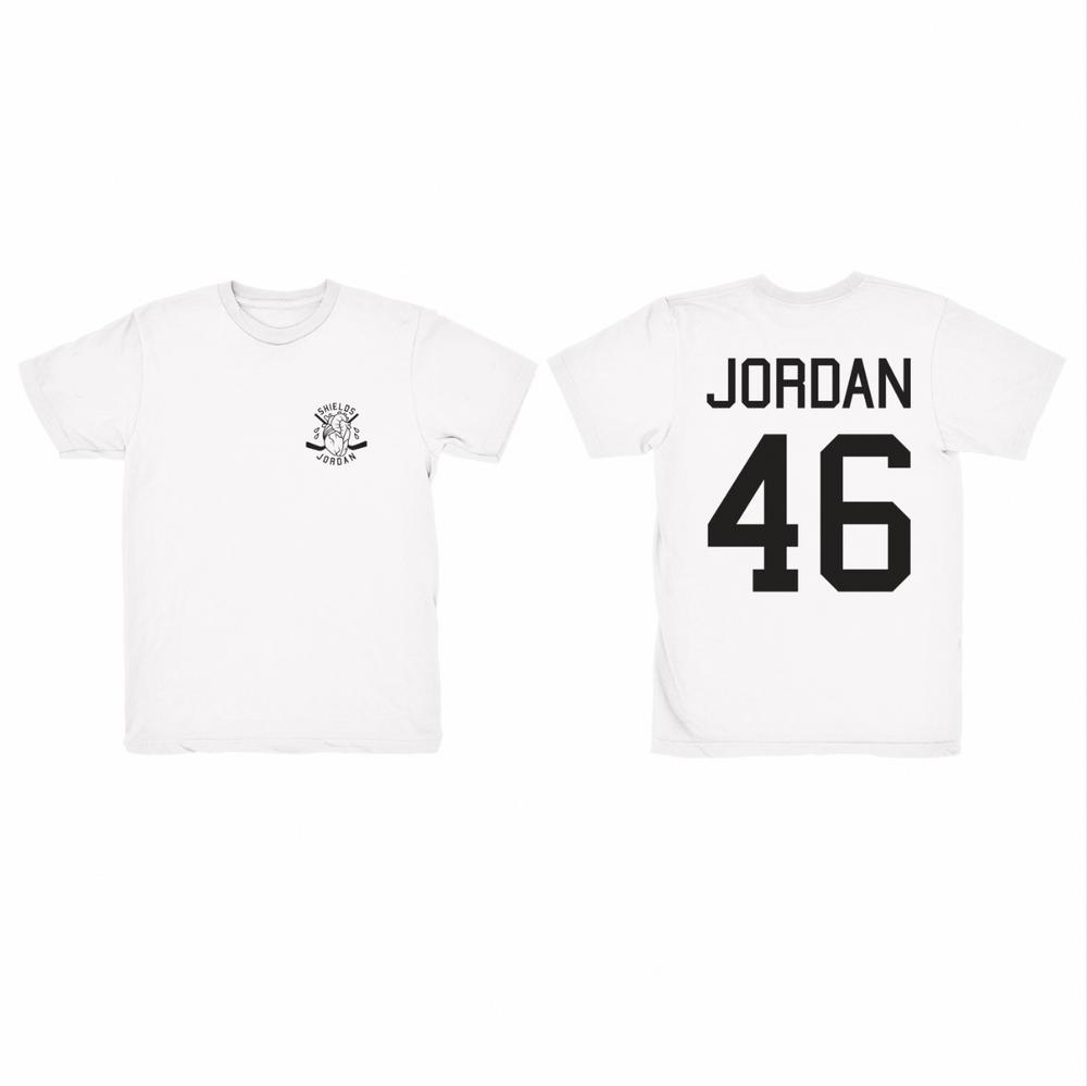 Image of JORDAN 46 WHITE • T-SHIRT