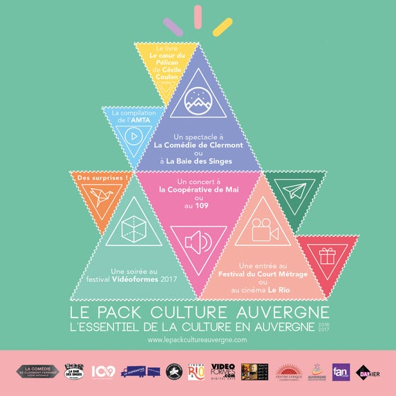 Image of LE PACK CULTURE AUVERGNE #2016/17