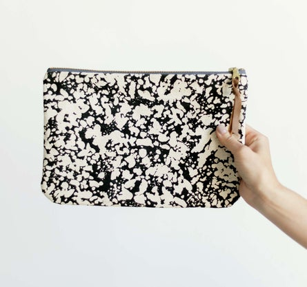 Tephra Canvas Clutch