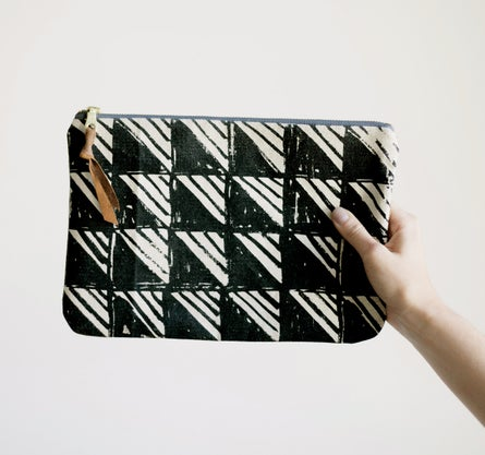Fault Leather Clutch