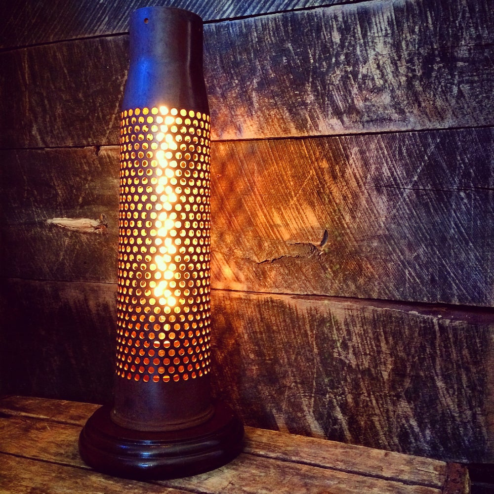 Image of Artillery Shell Accent Lamp