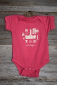Image of Philadelphia Icon Pink Onesie