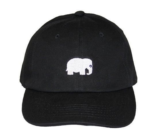 Image of Elephant Polo Hat (Black)