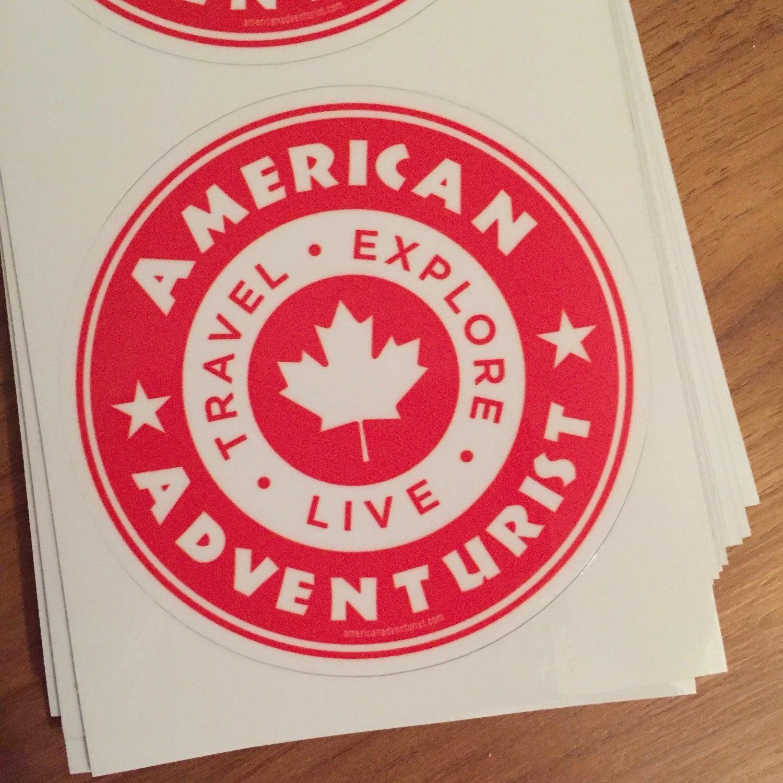 Image of AAV Canada Decals