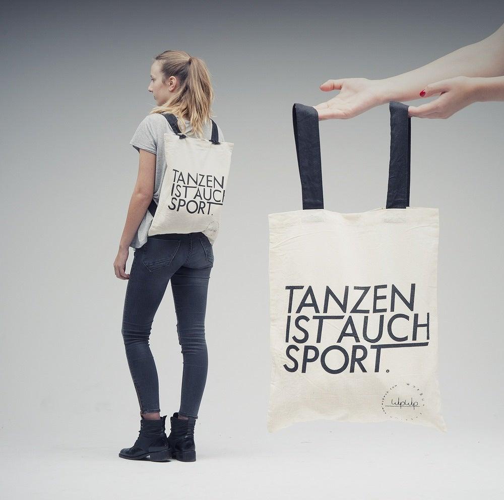 Image of Tanzen Ist Auch Sport - White Gymbag