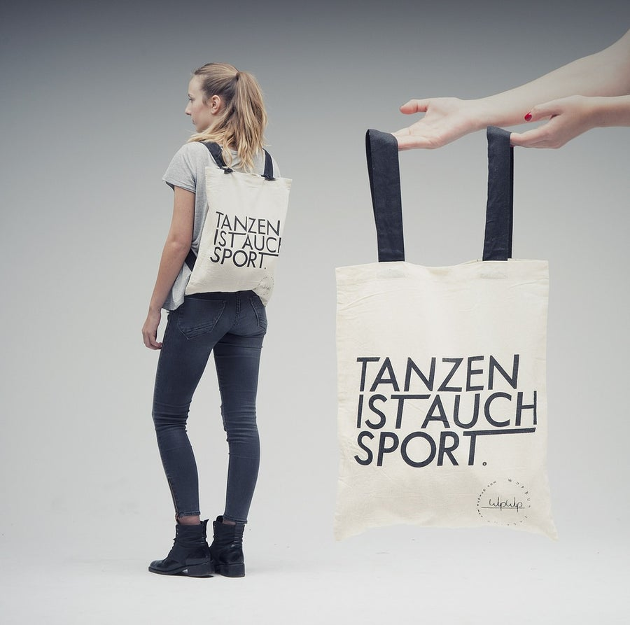 Image of Tanzen Ist Auch Sport - White Gymbag
