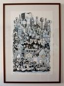 "Image of ""Newcastle"" Screen Print"