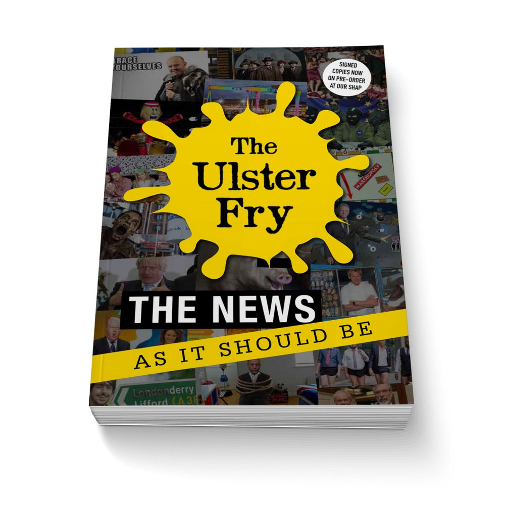 Image of The Ulster Fry Book (Signed)