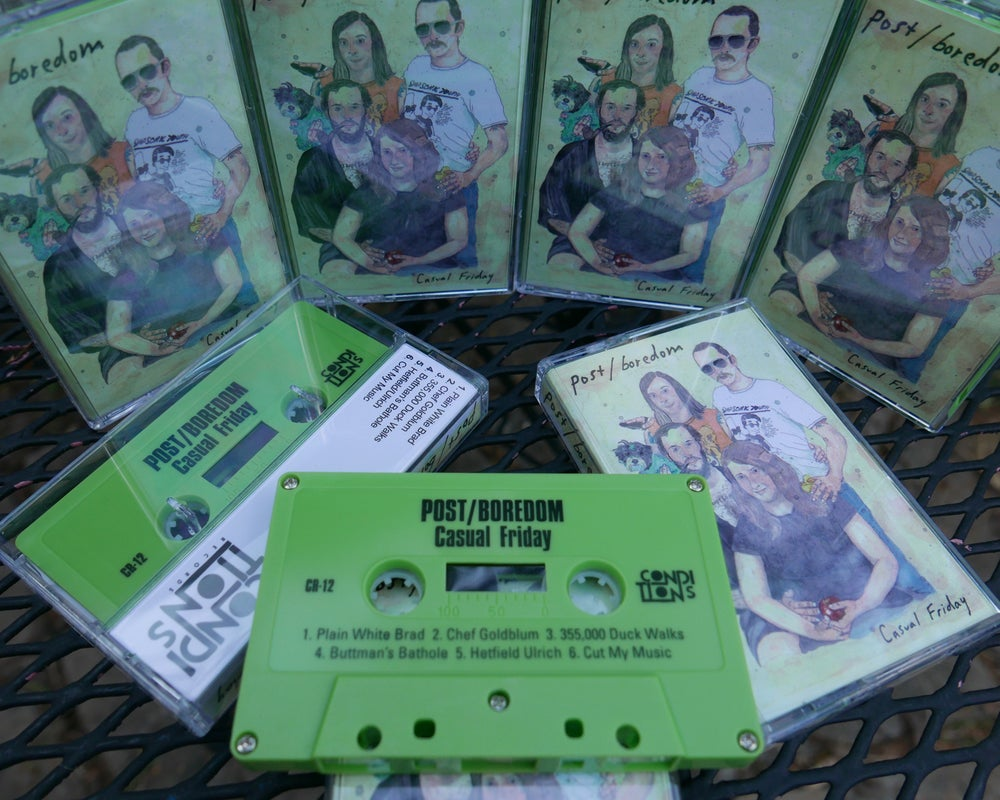Image of Post/Boredom - Casual Friday Cassette