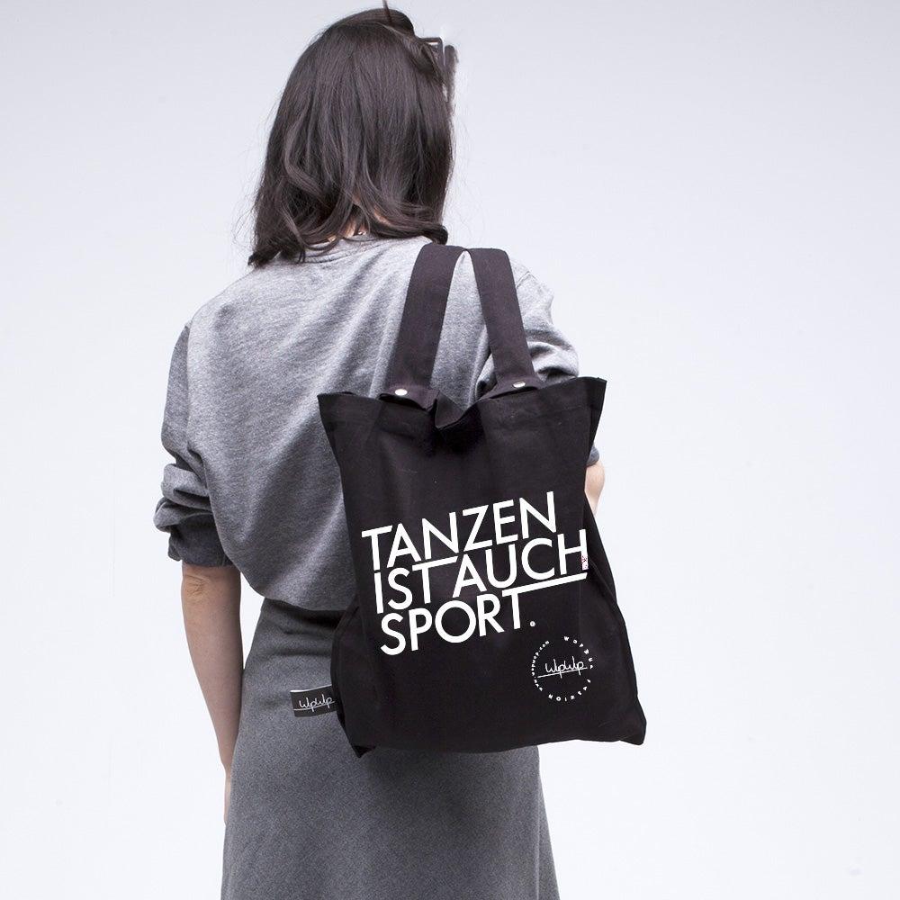 Image of Tanzen Ist Auch Sport - Black Gymbag