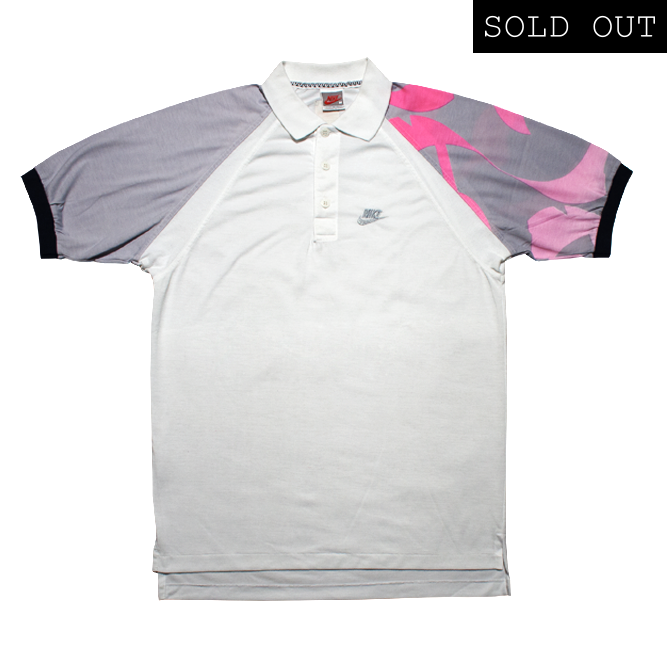 Image of Nike Challenge Court Agassi Vintage Polo Tennis 89