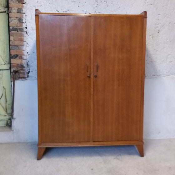 Image of Grande armoire bois blaqué