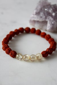 Image of Citrine Wrist Mala