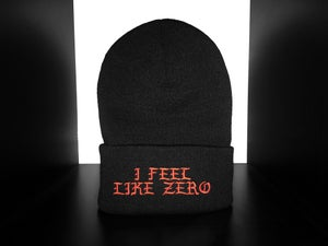 Image of SOLD OUT | EXCLUSIVE RELEASE | I FEEL LIKE ZERO BEANIE