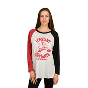 Image of CONSTANT DEVIANTS Womens (RED AND BLACK)