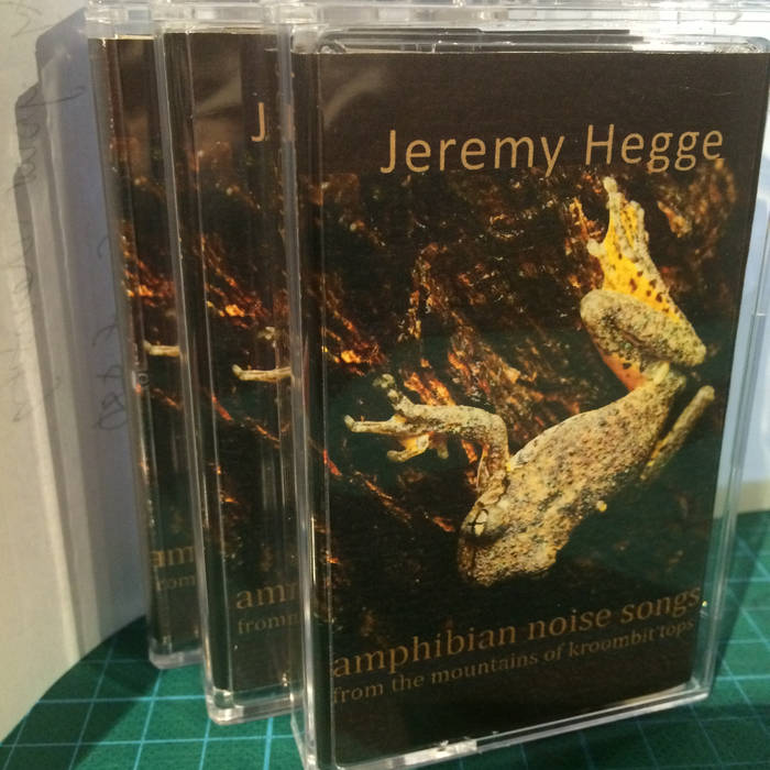 "Image of Jeremy Hegge ""Amphibian Noise Songs From Mountains of Kroombit Tops"" CS (Chemical Imbalance)"