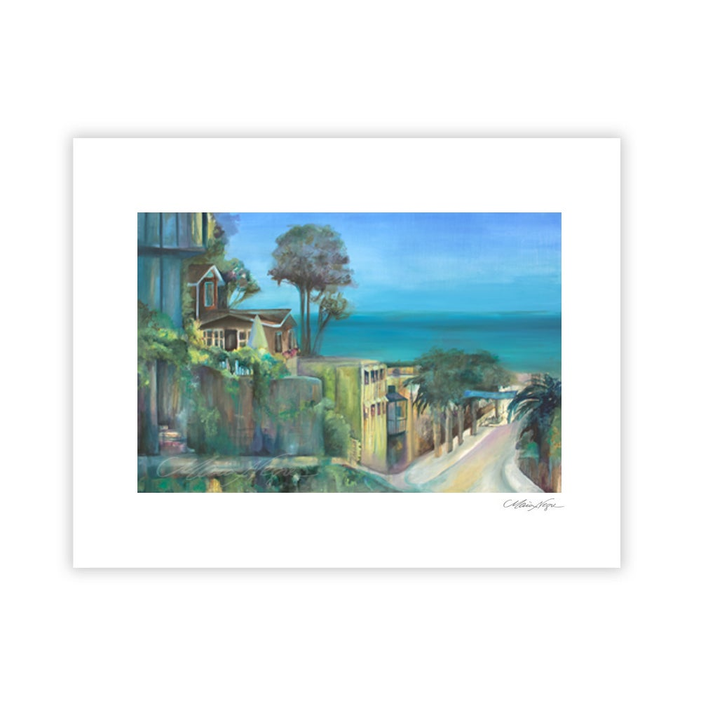 Image of Dropping Into Capitola, Archival Paper Print