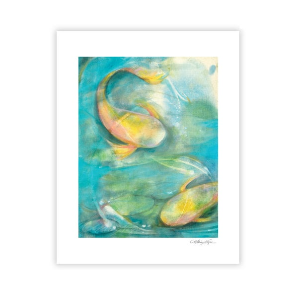 Image of Koi Fish, Archival Paper Print