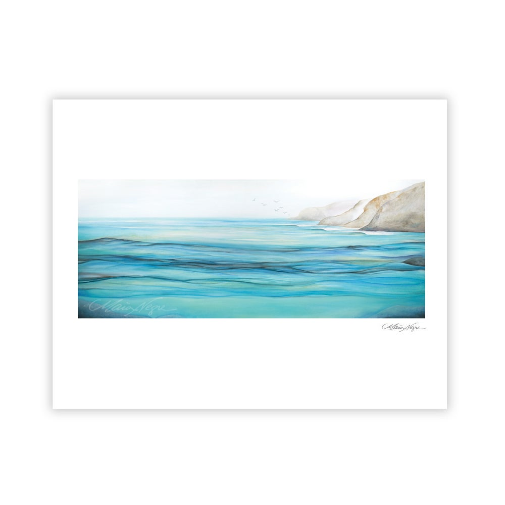 Image of Seaside, Archival Paper Print