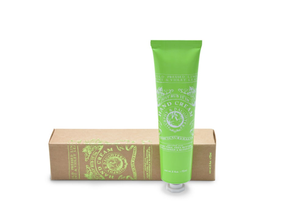 Image of Hand cream-just rub it in - fragranced with bright and fresh essential oils