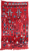 Image of 100% Wool Tribal Boujad Rug - 260 cm x 160cm