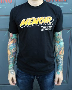 Image of Memoir Tattoo 'Sunset' T-Shirt / NO OVERSEAS SHIPPING