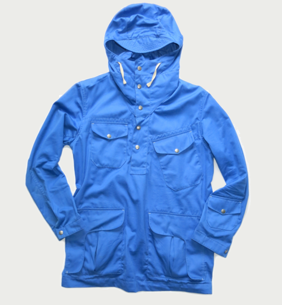 Image of CONNOISSEUR ANORAK - POWDER BLUE