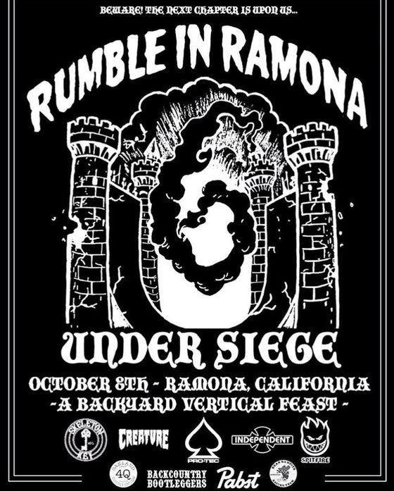 Image of RUMBLE IN RAMONA EVENT SHIRT
