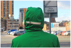 Image of CONNOISSEUR ANORAK - PROPER GREEN
